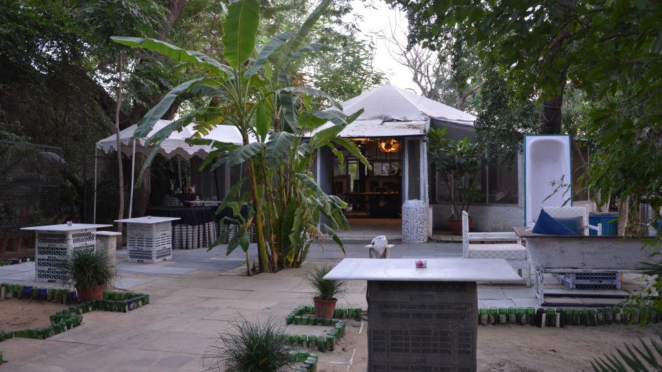 rooftop restaurant in Jaipur, Sora Restaurant at Clarks Amer Jaipur - Best Hotels in Jaipur