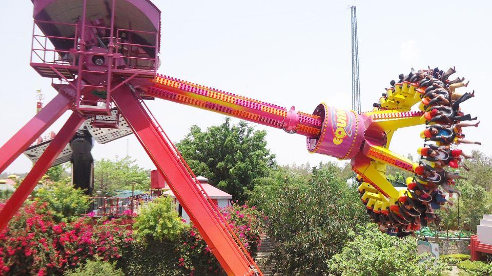Thrillers Rides - Equinox at  Wonderla Amusement Park Bangalore