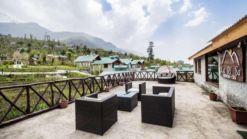 Outdoor Area at LaRisa Beach Resort in Goa 2