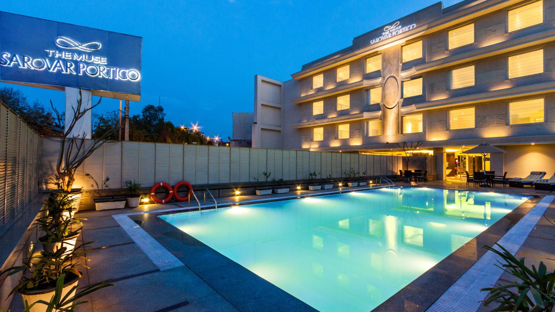 pool The Muse Sarovar Portico Kapashera New Delhi