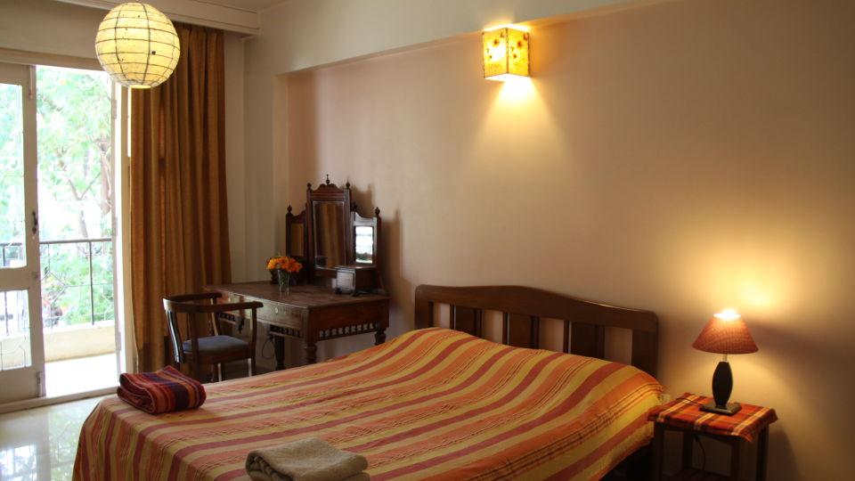 Casa Cottage Hotel, Bangalore Bangalore Casa Apartment - Richmond Town - Student Accomodation - Furnished apartment to rent - Bedroom -1