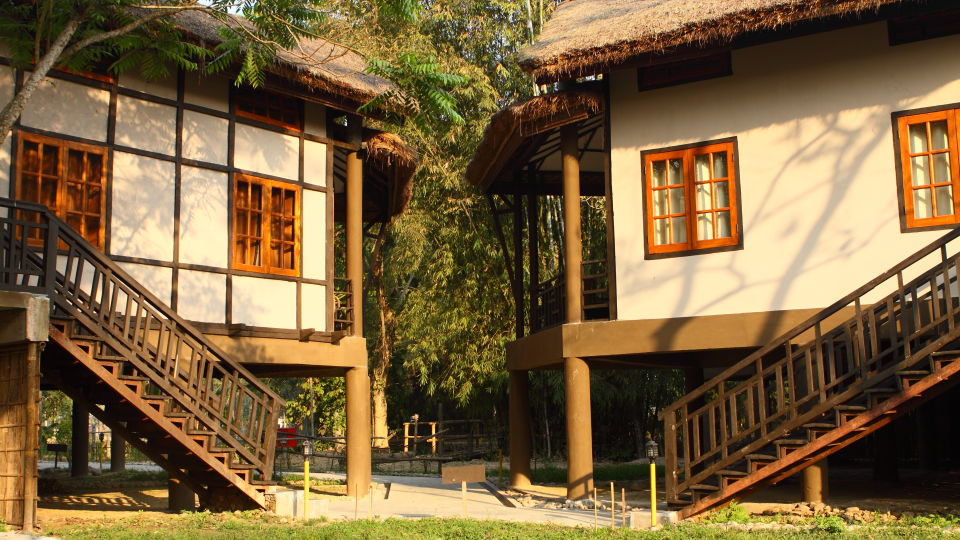 Landscape of the Hotel at Infinity Resorts Kaziranga 1