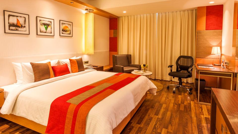 room double The Muse Sarovar Portico Kapashera New Delhi 2