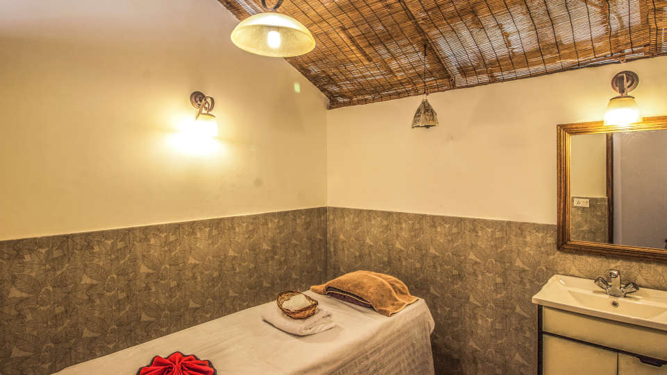 Spa at LaRisa Beach Resort in Goa