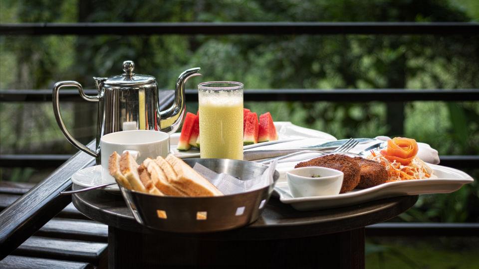 Breakfast Setup Balcony