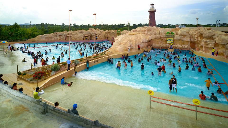 Water Rides - Play Pool  at  Wonderla Amusement Park Bengaluru