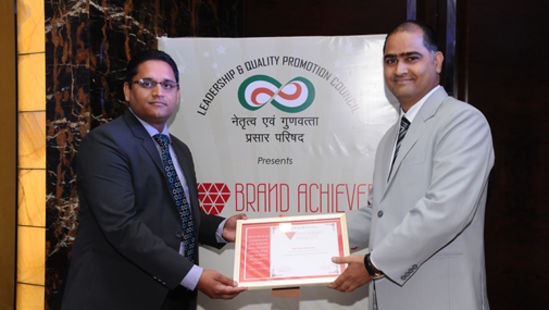 Brand award - Pride Group of Hotels
