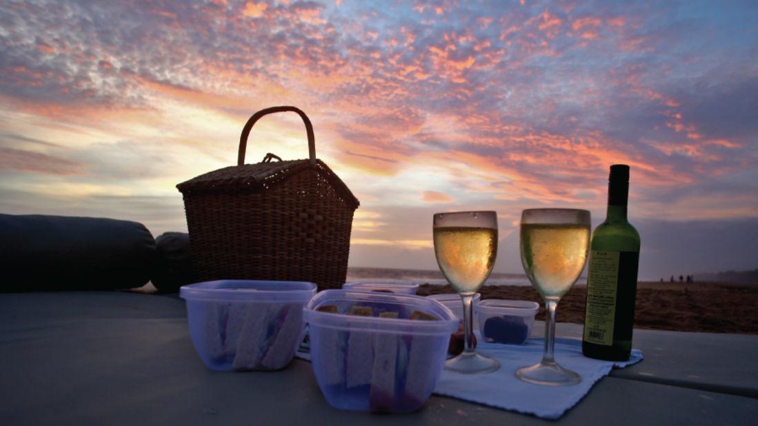 Sunset Cruise Niraamaya Retreats Surya Samudra Kovalam Resort