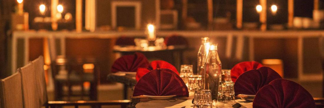 Gol Ghar restaurant in pachmarhi-dining at Reni Pani Jungle Lodge in Satpura w4tws