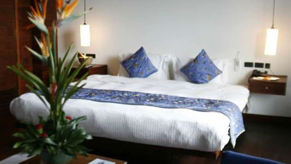 Penthouse at Hotel Le Dupliex Pondicherry  hotel rooms in pondicherry1