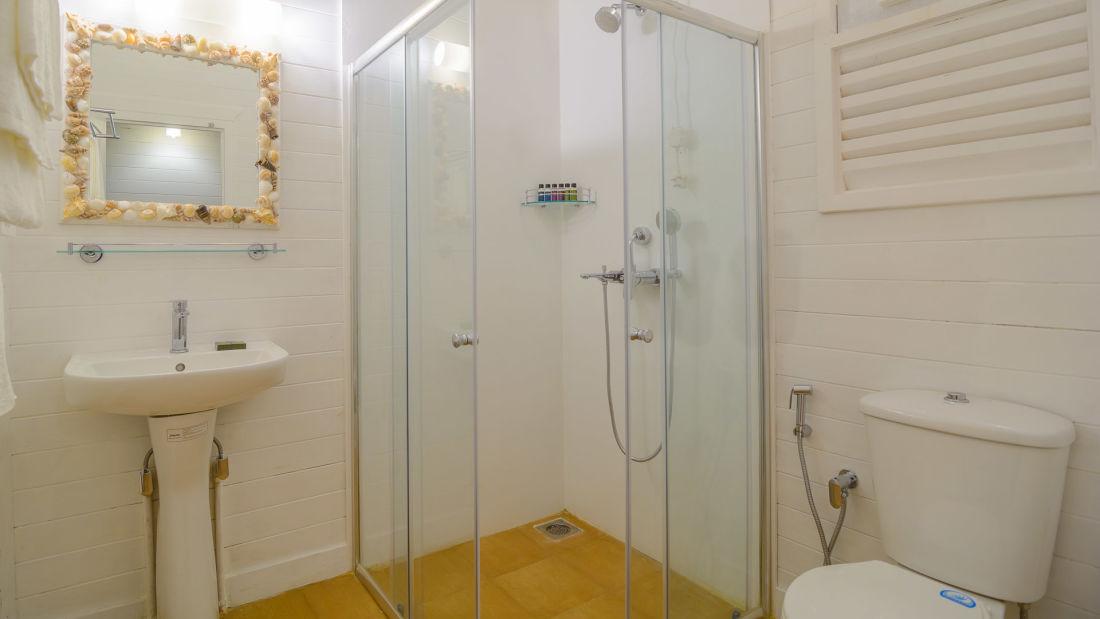 LaRiSa Beach Resort in Morjim Goa Bathrooms