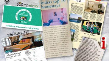 Press Reviews 2, Colonel's Retreat Hotels, New Delhi Hotels