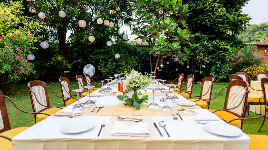 Heritage Village Resort and Spa, Boutique Resorts Goa, Exclusive Dining Experience 4