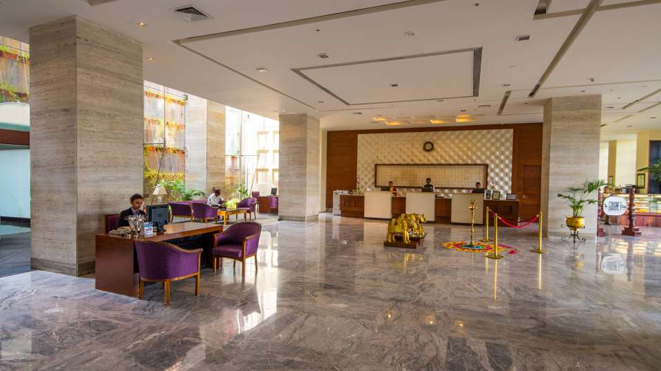 Hotel and Lobby The Orchid Hotel Pune 11