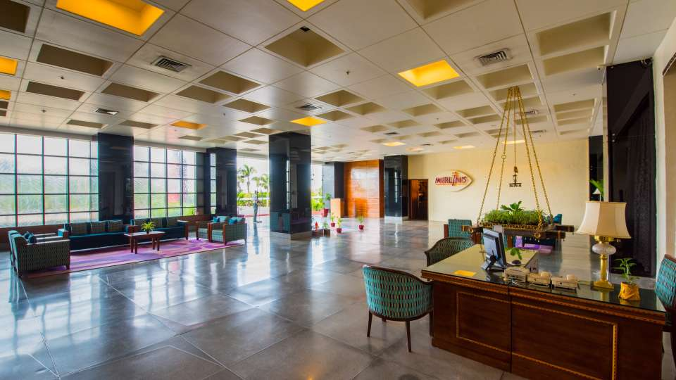 Hotel and Lobby The Orchid Hotel Pune 7
