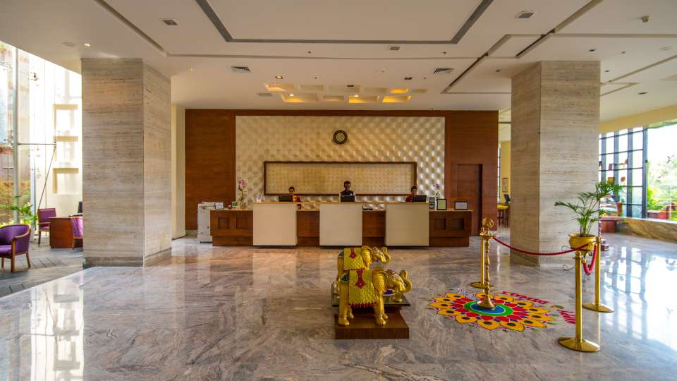Hotel and Lobby The Orchid Hotel Pune 8