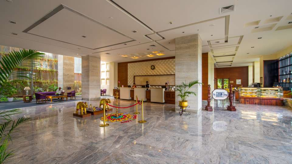 Hotel and Lobby The Orchid Hotel Pune 9