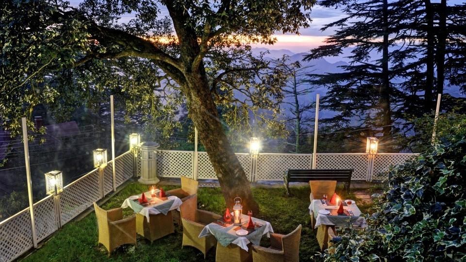 Lawn at Summit Le Royale Hotel Shimla 1