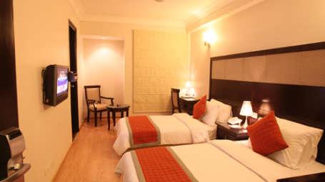 Emblem Hotel, New Friends Colony, New Delhi Delhi Bedroom Emblem Hotel New Friends Colony New Delhi