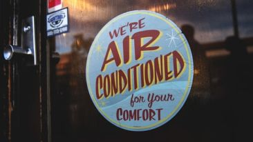 Air conditioning at hotel mount view