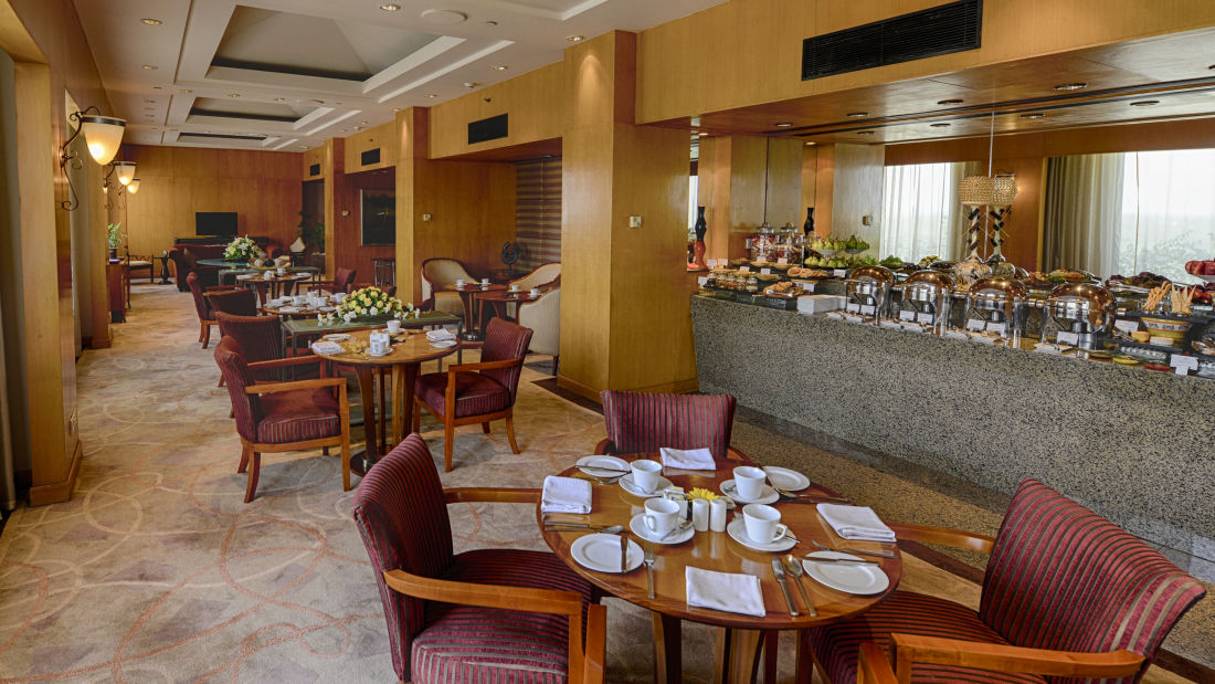 Grand Club Lounge at The Grand New Delhi Hotel on Nelson Mandela Road Lounge In New Delhi 108