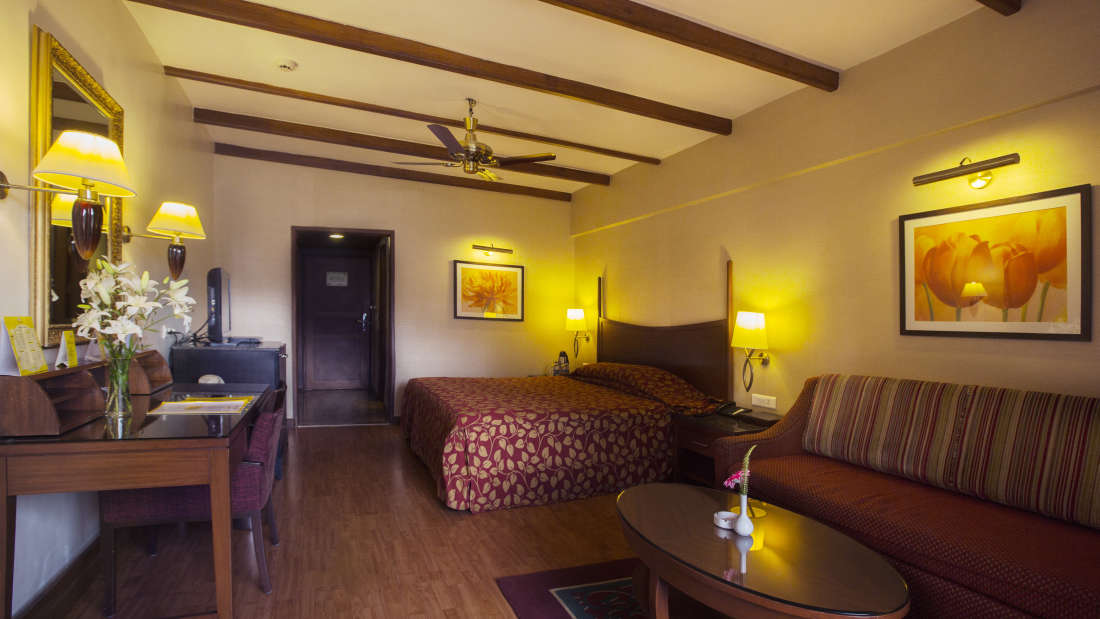 Deluxe Rooms at The Carlton Hotel, lakeview hotel in Kodaikanal