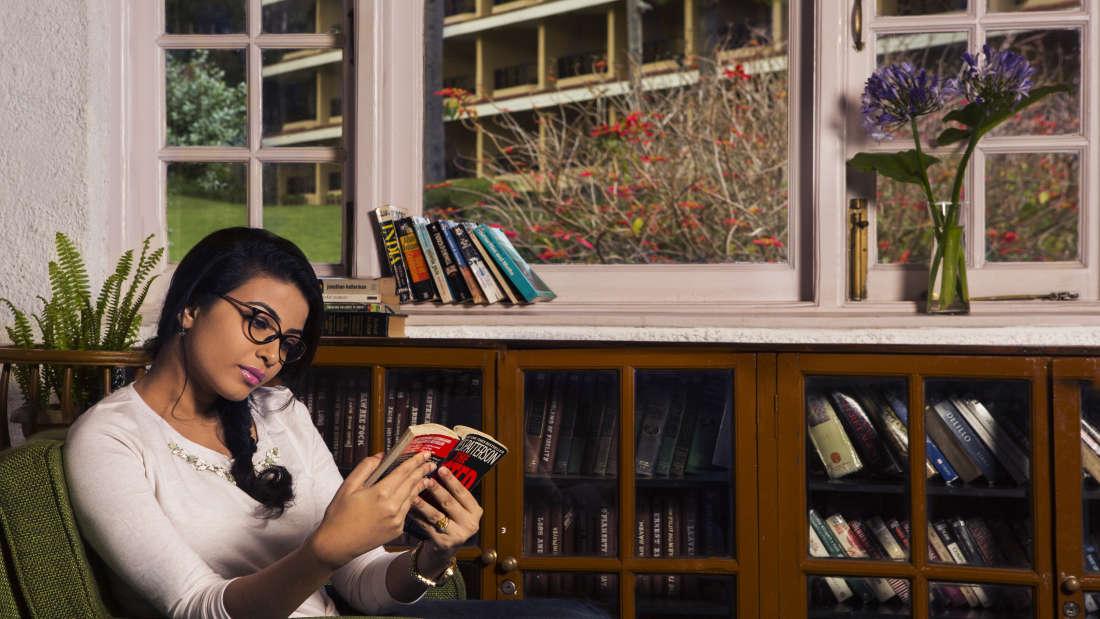 Library at The Carlton - Best 5 Star Hotel in Kodaikanal
