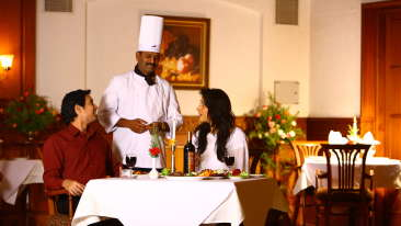 The Silver Oak Restaurant in Kodaikanal, The Carlton Hotel , 5 Star Hotel in Kodaikanal  4