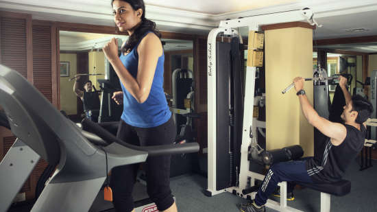 Gym Facility at The Carlton - Best 5 Star Hotel in Kodaikanal