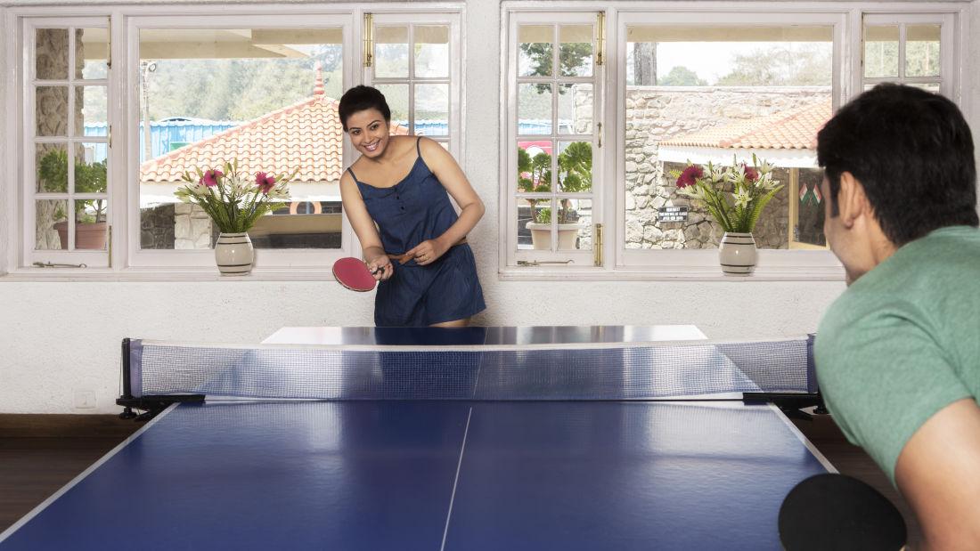 Table Tennis, The Carlton Hotel, Kodaikanal  Luxury Hotel
