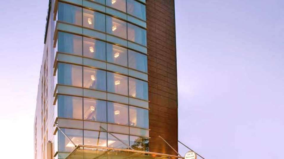 Facade at  Park Inn, Gurgaon - A Carlson Brand Managed by Sarovar Hotels, gurgaon hotels 2