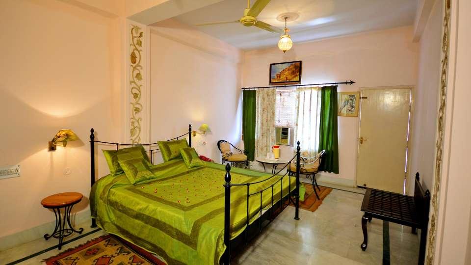 Royal Deluxe Room at Umaid Lake Palace Hotel Kalakho Dausa Rajasthan