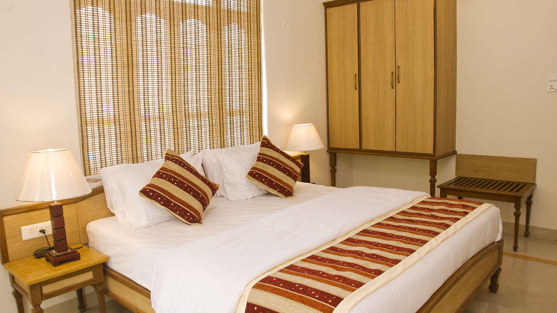 Ocean Palms Goa Palm Pool View Room 5 Ocean Palms Hotel Goa
