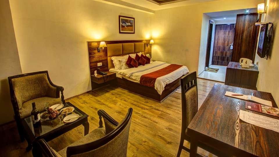 Sandhya Resort and Spa Manali Luxury Room Sandhya Resort and Spa Manali 2
