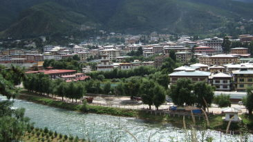 Thimphu view Bhutan Summit Hotels