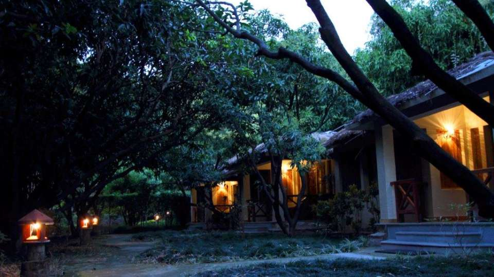 Tiger Camp Resort, Corbett Uttarakhand Deluxe Cottages Tiger Camp Corbett