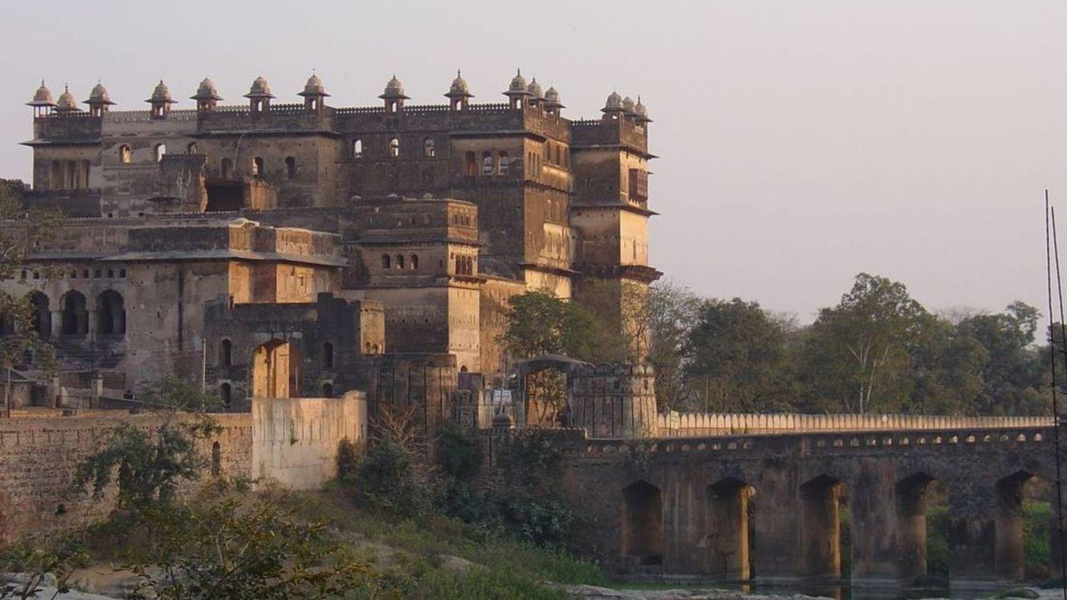 Orchha Fort Jhansi near nataraj sarovar portico, hotel near jhansi railway station