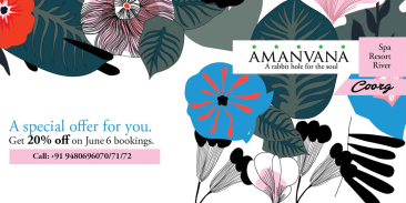 Amanvana - A rabbit hole for the soul, Coorg Coorg Promotions at Amanvana Resort And Spa Coorg 3