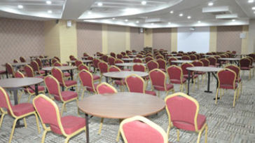 summit banquet hall at Hotel Residency Sarovar Portico Mumbai