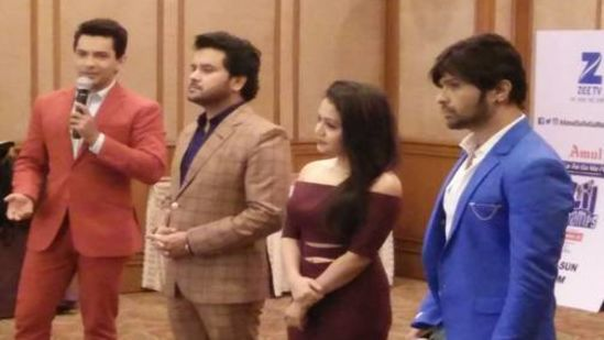 SA RE GA MA PA LIL CHAMPS press conference at The Orchid Mumbai Vile Parle - 5 Star hotel near mumbai airport