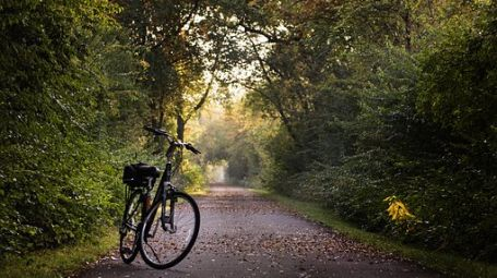 Explore villages on bicycle