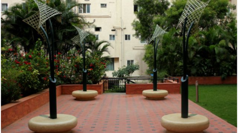 Sherwood Suites  Entrance Sherwood Suites in Marathahalli