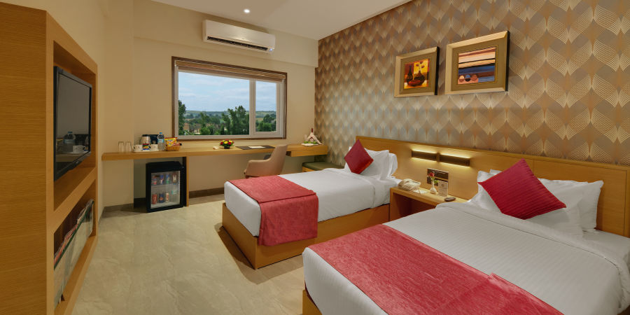 alt-text Premium Rooms at Suba Bhuj Hotels Hotel rooms in Bhuj 8
