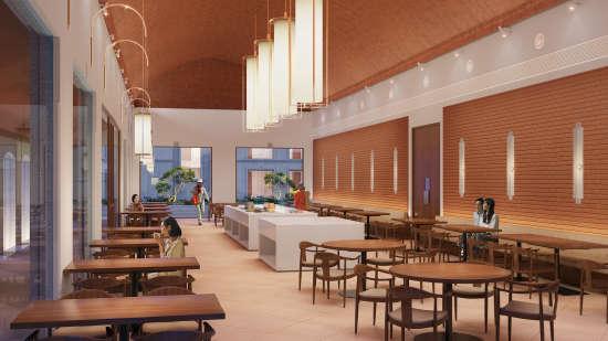 Cafe,  Marasa Sarovar Premiere Bodhgaya, Hotels in Bodhgaya