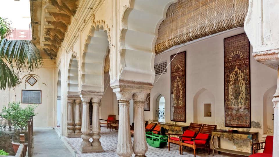 Facade_Tijara Fort Palace_Palace Hotel In Rajasthan 5