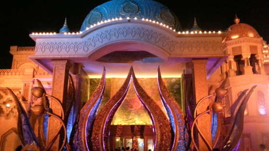 Culture Gully entrance  Kingdom of Dreams  Gurgaon