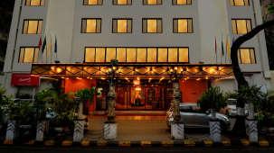 Facade of The Ambassador Hotel Mumbai , Heritage Hotel in South Mumbai