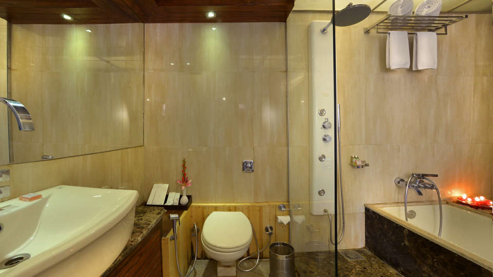 Superior Rooms at RK Sarovar Portico Srinagar 1
