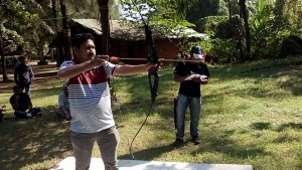archery, Lotus Beach Resort Murud Beach-Dapoli Ratnagiri