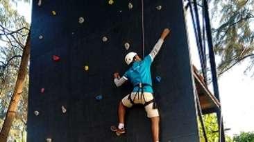 rock-climbing, Lotus Beach Resort, Murud Beach-Dapoli, Ratnagiri